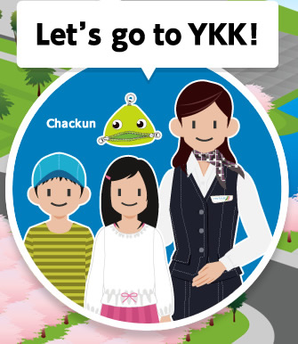 Let's go to YKK!